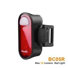 FENIX BC05R перезаряжаемый велосипедный задний светильник Макс 10 люмен Красный светильник велосипедный задний светильник встроенный литий-полимерный аккумулятор 240 мАч