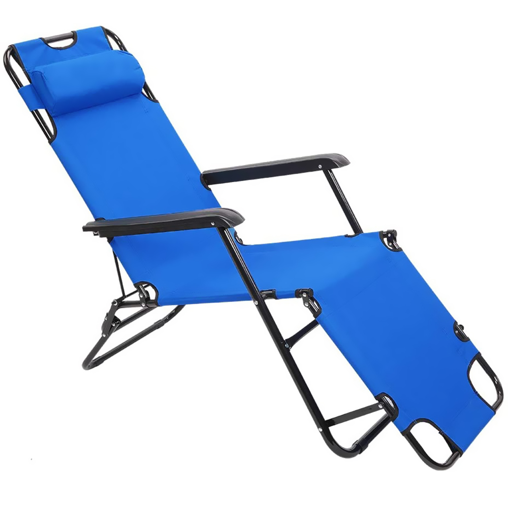 Lounge Chair Recliner Folding Outdoor Patio Lounge Chairs Beach