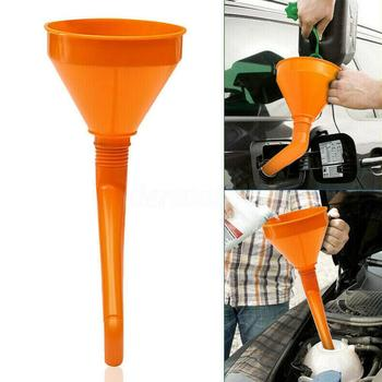 Plastic Funnel With Filter Thickening Heavy Duty Pressol Water Gasoline Oil Fuel Funnels Engine Accessories Petrol Car S4F3 image