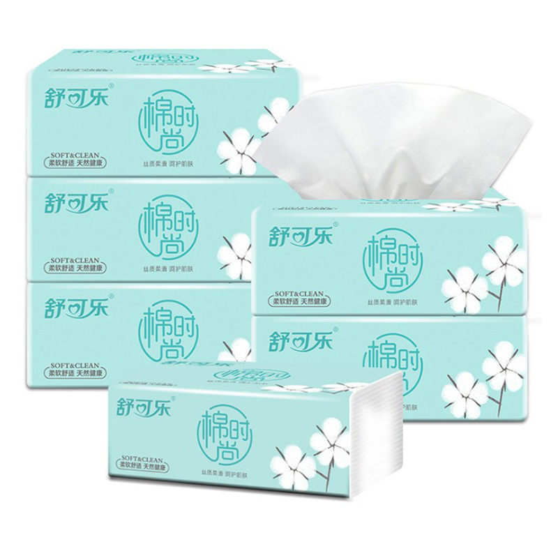1Pack Toilet Tissue Paper Disposable Soft 4 Ply Paper Napkin Bath Office Toilet Household Tissue Paper