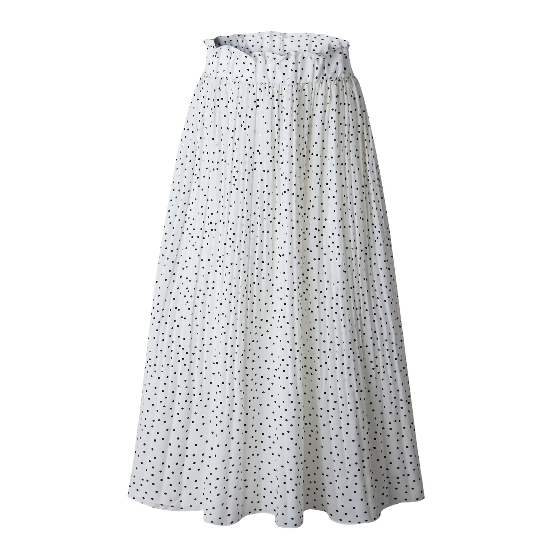 Hff3371f1b9d14ba190fbc086d1d2ba31a - Summer Casual Chiffon Print Pockets High Waist Pleated Maxi Skirt Womens Long Skirts For Women