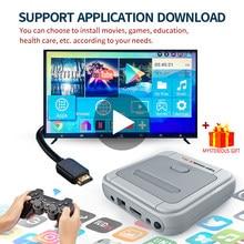 Super consola de juegos 4 K para niños, dispositivo de TV portátil Retro con reproductor de Arcade para chico, videojuego 4 K