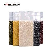 Aferidor do vácuo saco de armazenamento de plástico para arroz quente selagem sacos engrossar claro embalagem de armazenamento de alimentos a vácuo saquinhos de feijão de chá