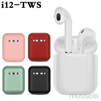 i9s i12 TWS Wireless Headset Touch Key Bluetooth 5.0 Sport Earphone Stereo For iPhone Xiaomi Huawei Samsung Smart Phone mini wireless bluetooth earphone i9s tws stereo headset invisible earbud for all smart phone for iphone huawei pk i7s i12 i11