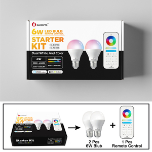 Image 5 - GLEDOPTO ZigBee akıllı LED ampül 2 paket renk değiştirme RGBCCT E27 E26 6W ampul Amazon Echo ile uyumlu artı Alexa hub