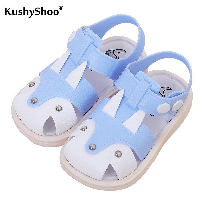 KushyShoo Summer 2019 Babies Anti-skid Soft-soled Walking Shoes Korean Children's Beach Shoe First Walkers Infant Shoes