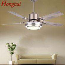 Современный потолочный вентилятор hongcui комплект светильников