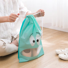 Dustproof Drawstring Christmas Gift Bags Cotton Drawstring Bags Makeup Bag Travel Pouch Storage Clothes Shoes Women Men Handbags(China)