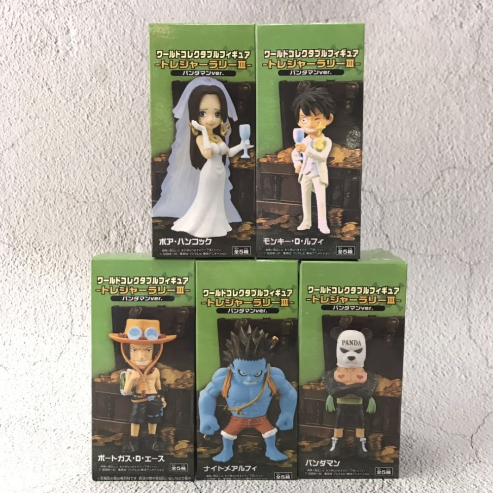 One Piece World Collectable Figure Treasure Larry III Luffy /& Boa Hancock