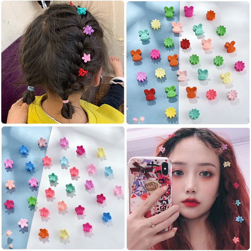 10/20/30/50 Pcs/Bag Cute Girls Women Flower Crown Animals Baby Hair Claws Children Hairpins Hair Clips Kid Hair Accessories Set