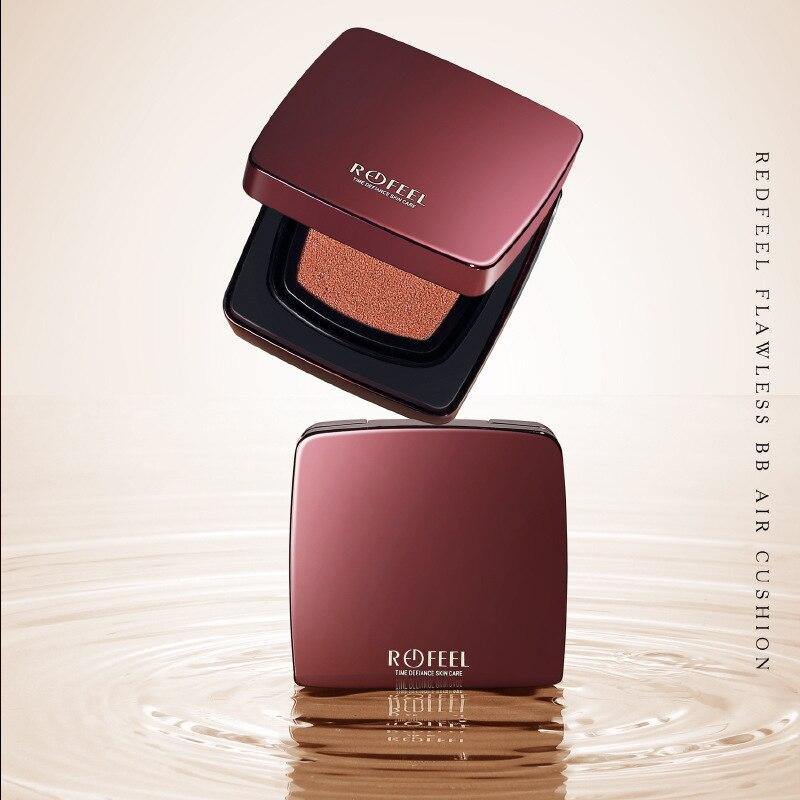 Korean Cosmetics Air Cushion BB Face Cream Foundation Base Makeup Concealer Beauty BB Glow Whitening Moisturizing Primer