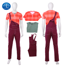 Manluyunxiao Ralph Cosplay Halloween Costume For Adult Man Kids Movie Ralph Breaks the Internet Wreck It Outfit Masquerade Suits ralph macchio michael mike marts x men the movie 1tru a