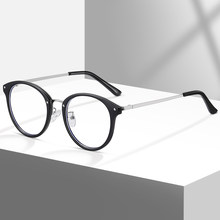2021 New Transparent Computer Glasses Frame Women Men Anti Blue Light Eyewear Blocking Optical Spectacle Myopia Eyeglass