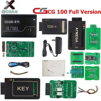 Full Version CG100-III Airbag Reset Tool CG 100 Full Support for CPU Airbag Computer Repair CG100 with Key&CAN&ATMEGA Adapter