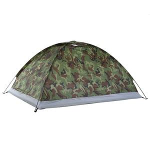 Image 4 - TOMSHOO Lều Cắm Trại Đi Bộ Đường Dài Lều Dành Cho 1 2 Người 1 Lớp Ngoài Trời Di Động Ngụy Trang Chống Nước Lều Có Mang Theo túi