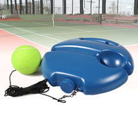 Tennis Training Aids Tool With Elastic Rope Ball Practice Self-Duty Rebound Tennis Trainer Partner Sparring Device new