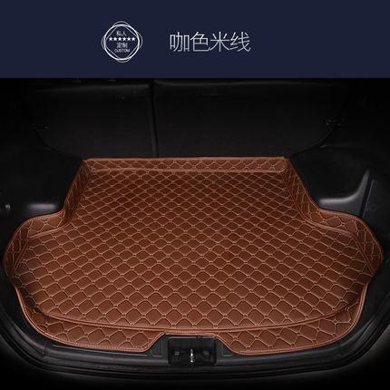Personalizado tapete do carro tronco para Mitsubishi Todos Modelo acessórios do carro Galant Lancer Outlander ASX Pajero personalizado forro de carga