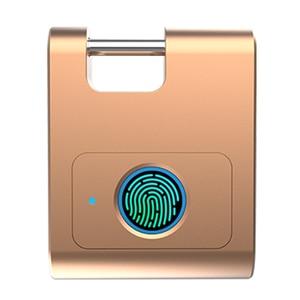 Image 2 - Casa Bluetooth In Lega di Zinco Porta di Sicurezza Gabinetto di Blocco Delle Impronte Digitali Keyless Intelligente 360 Gradi Dormitorio USB Ricaricabile Lucchetto