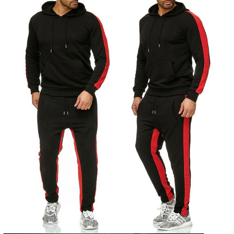 2020 New Men's And Women Tracksuit Hoodies Tops Sweatpants 2 Piece Suit Sports Plus Size Sportswear Suit Casual Couple Suits