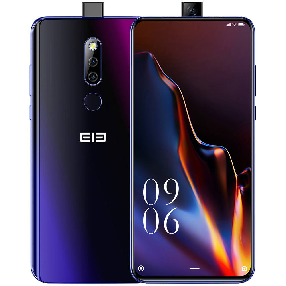 6.5 inch Elephone PX 4G <font><b>Smartphone</b></font> 1080 x 2340 FHD Octa Core <font><b>4GB</b></font> RAM <font><b>64GB</b></font> ROM Pop-Up 16MP back Camera <font><b>Android</b></font> <font><b>9</b></font>.0 Mobile Phone image