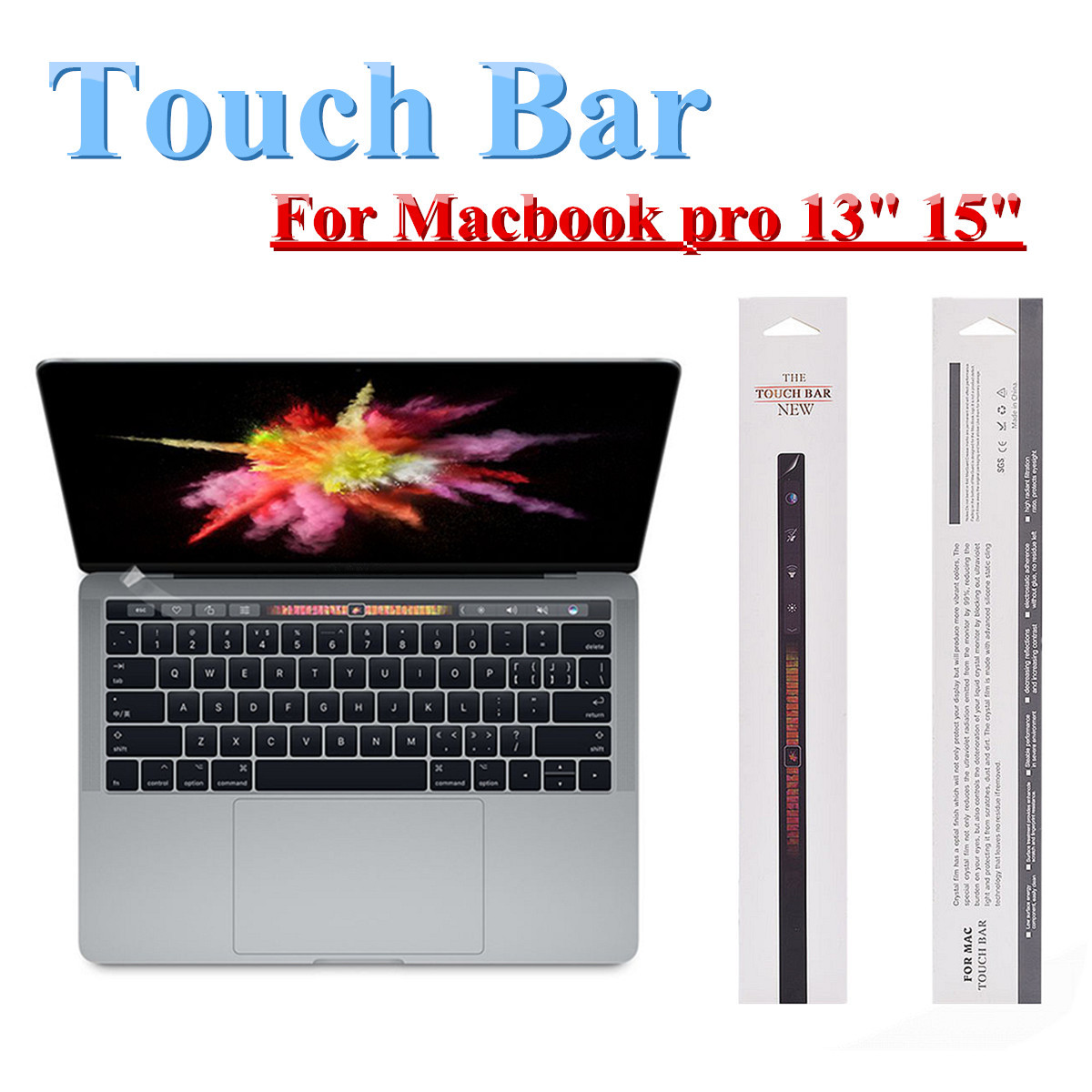 """Clear Screen Protector Guard LCD Cover Film For 2016 NEW Apple Macbook Pro 13/"""""""