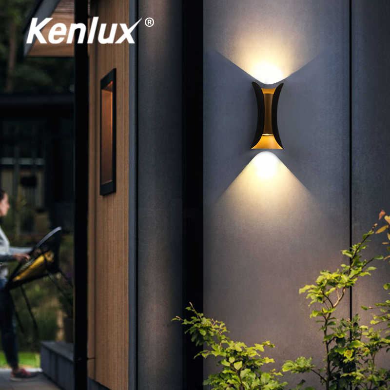 Promotion Nordic Indoor Outdoor Light 10w Up Down Led Wall Lamp Modern Living Room Lights Outdoor Waterproof Porch Lighting Outdoor Wall Lamps Aliexpress
