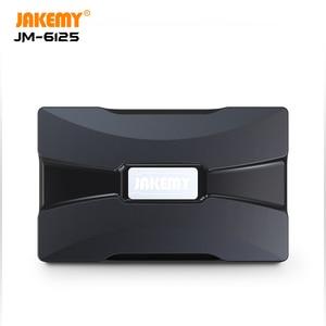 Image 4 - JAKEMY JM 6125 oryginalny zestaw wkrętaków z wysokiej jakości S 2 sterownik Bit DIY zestaw narzędzi do naprawy laptopa okulary mobilne