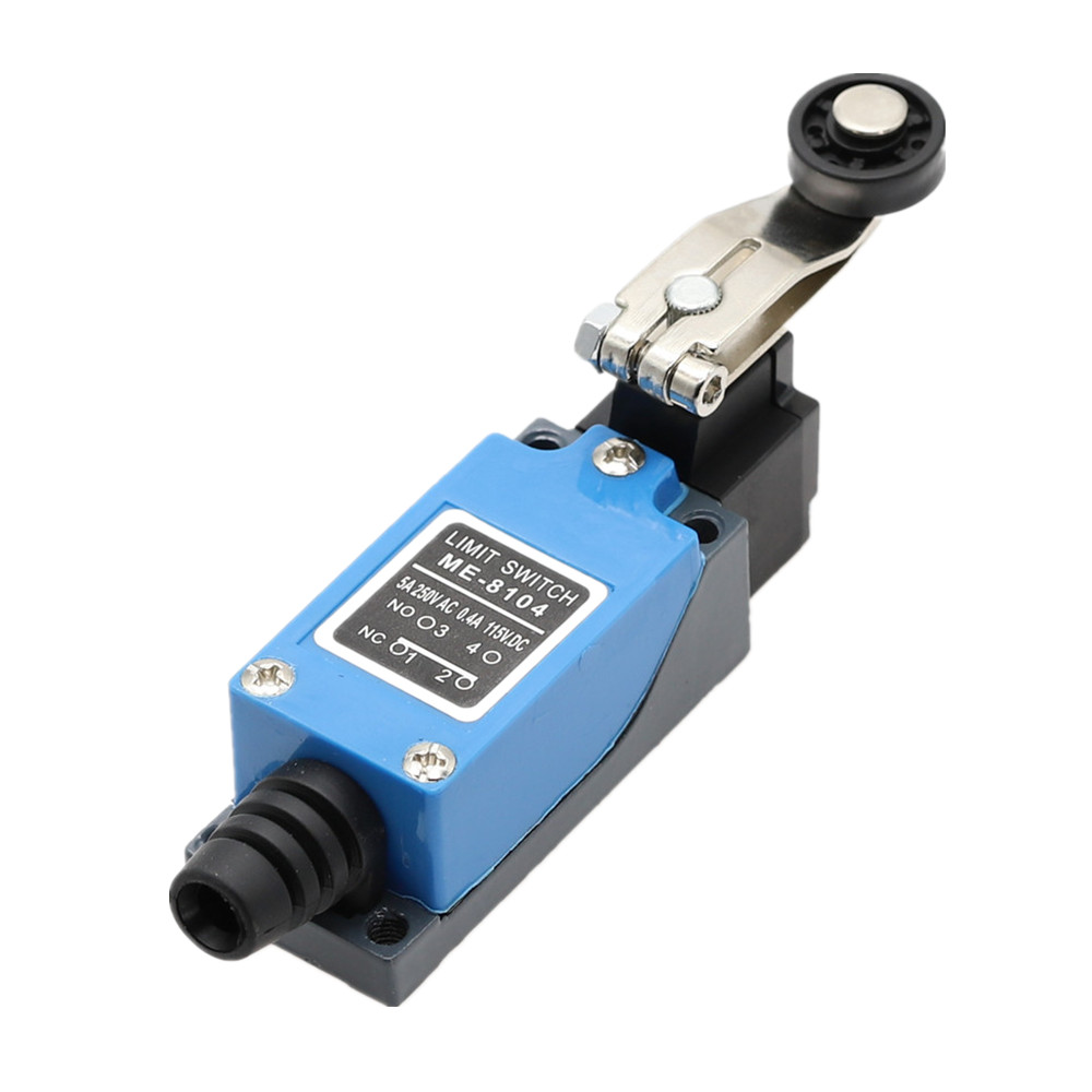 1pcs Waterproof ME-8104 Momentary AC Limit Switch For CNC Mill Laser Plasma 250V/5A 8104 Rotary Adjustable Toggle Switch(China)