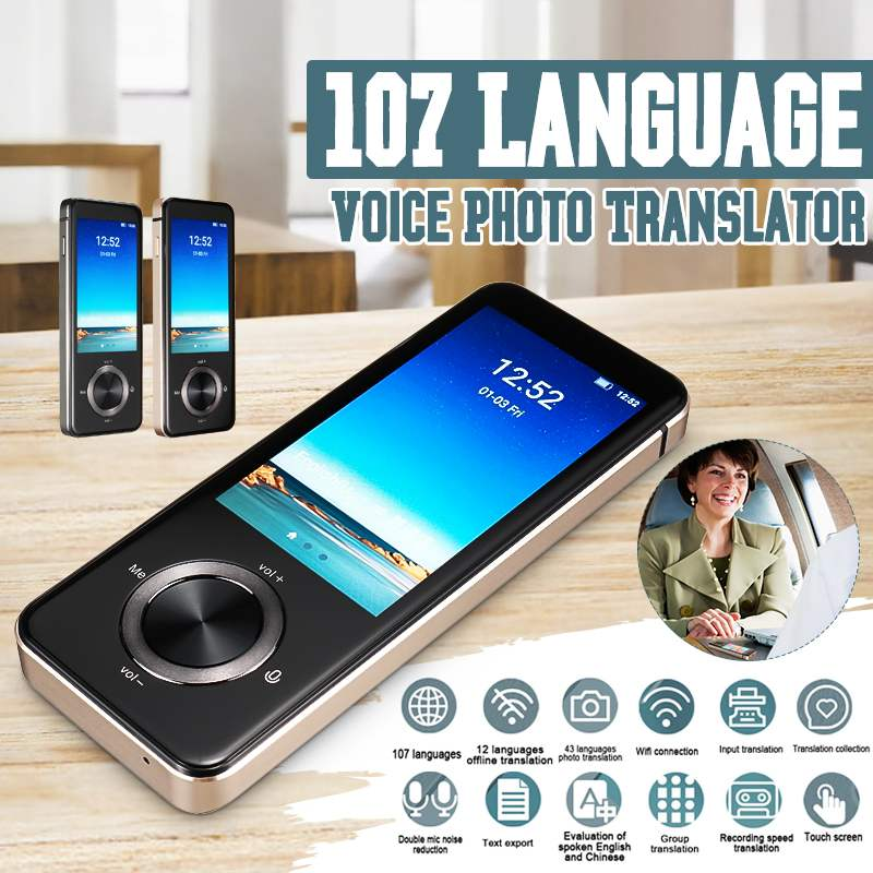 NEW M9 Instant Voice Translator Portable Language Translator In Real-time Smart Translator Supports 12 offline languages