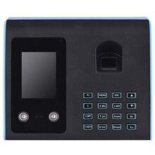 Attendance-Machine Employee Sign-In-Recorder Fingerprint Intelligent Face-Recognition