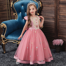 Summer Tutu Dress For Girls Dresses Kids Clothes Wedding Events Flower Girl Dress Birthday Party Costumes Children Clothing summer flower girl dresses wedding party kids birthday princess dress for girls infant children clothing girl baby clothes 2 8 y