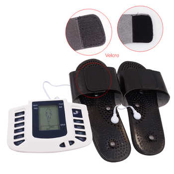 16 Electrode Pads Electrical Stimulator Full Body Massage Tens Acupuncture Pulse Pain Relax Russian Button Health Care