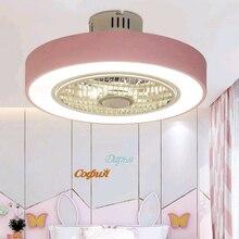 50 см потолочный вентилятор Macaron, современный ресторан, спальня, потолочный вентилятор со светом 220 В, пульт дистанционного управления, затемнение, прекрасный вентилятор, лампа