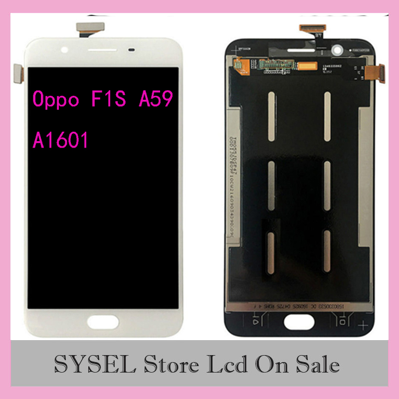 For <font><b>Oppo</b></font> F1S A59 <font><b>A1601</b></font> LCD Display Digitizer Screen Touch Panel Glass Assembly with Tools image