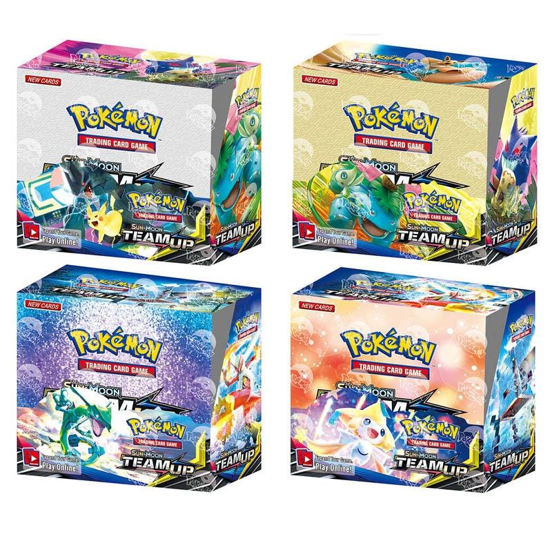 324 Uds Pokemon TCG: Sol Y Luna Bonos De Caja De Tarjeta De Juego Collectibles Card Game Kids Toys Gift