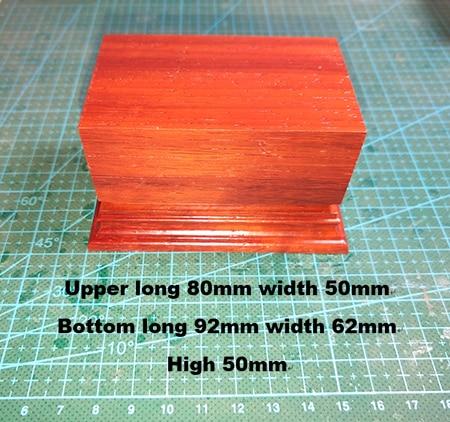 Base Upper Long 80mm Width 50mm Bottom Long 92mm Width 62mm High 50mm  Resin Figure Model Kits Miniature Gk Unassembly Unpainted