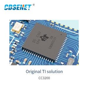 Image 5 - CC3200 2.4GHz โมดูล WIFI CDSENET E103 W02 SMD RF 2.4GHz WIFI เครื่องส่งสัญญาณสำหรับเสาอากาศ PCB