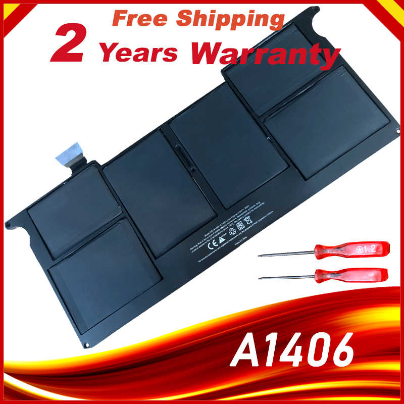 "Laptop Batterij Voor Apple Macbook Air 11 ""A1370 Mid 2011 & A1465 (2012-2015) 35WH 7.3V,Repace: A1406 A1495 Batterijen"