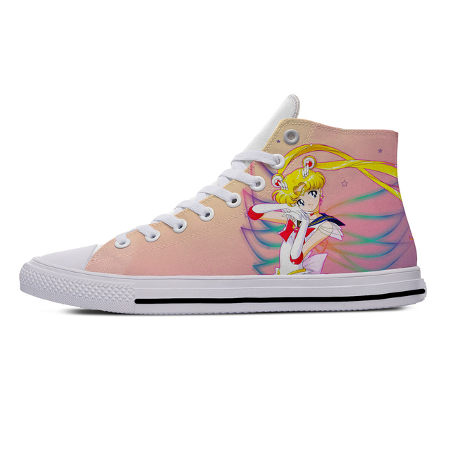 SAILOR MOON THEMED HIGH TOP SHOES (11 VARIAN)
