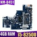 Материнская плата для ноутбука lenovo Ideapad 320-15IKB с I5-8250U процессором 4 Гб оперативной памяти DDR4 5B20Q13067 NM-B451 100% протестированная Быстрая доставка