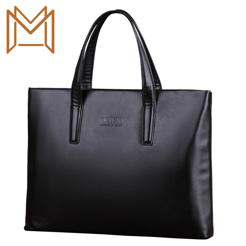 Special Male Package Leisure Time Handbag Concise Cross Section Briefcase Man Bag