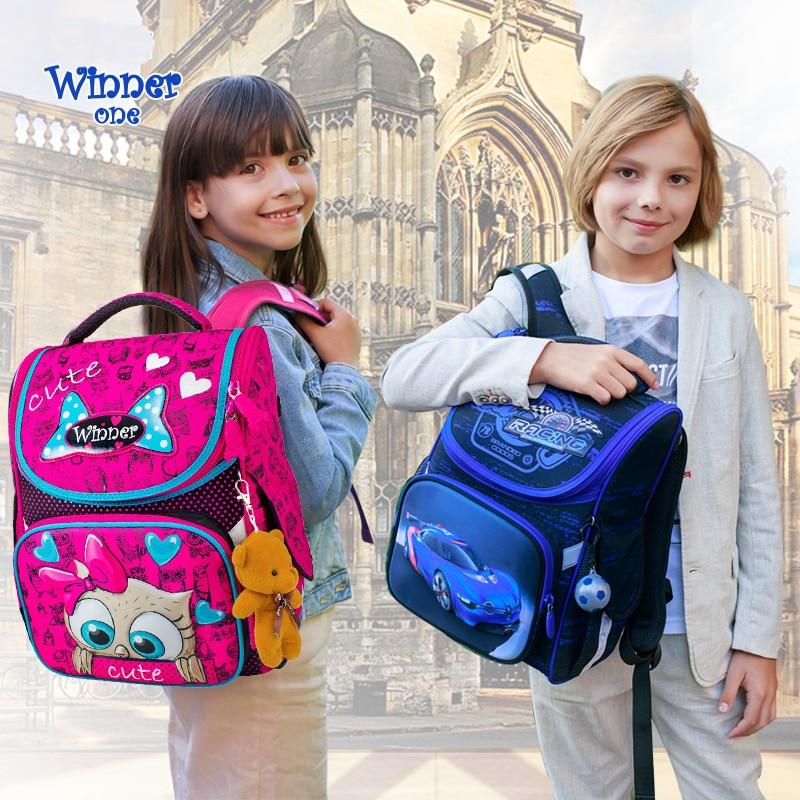 High Quality Brand School Bags For Girls Boys Cartoon Orthopedic  Backpack Children School Bags Kids Satchel Knapsack Mochila