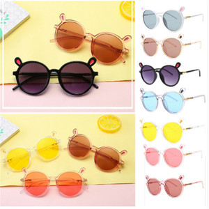 Fashion Boys Girls Popular Novelty Toys Sunglasses Goggles Kids Baby Frame Children Outdoor Glasses 7 Colors(China)