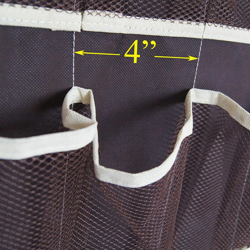 Space Saving Door Hanging Organizer with 24 Pockets for Storage of Shoes Safely 5