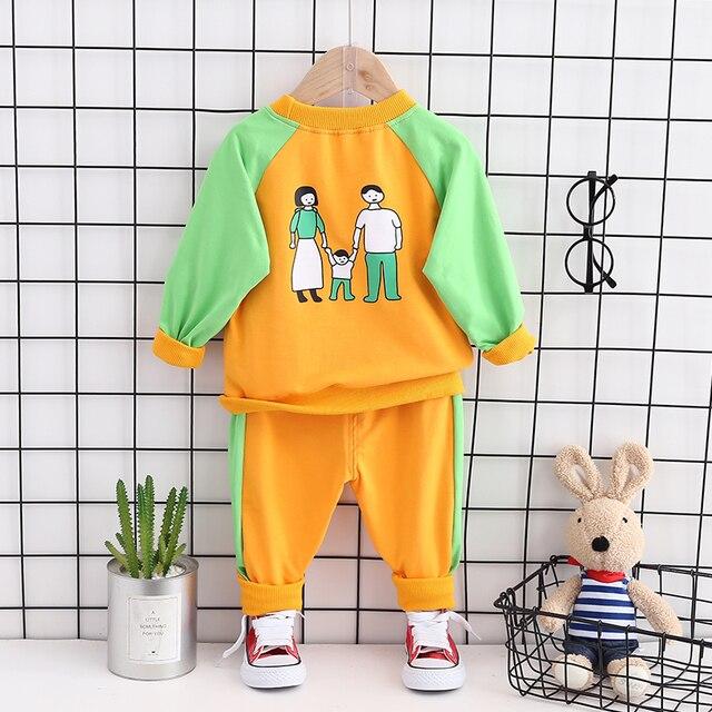 Купить модная детская весенне осенняя хлопковая одежда для маленьких картинки цена