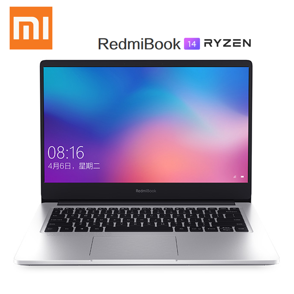 Asli Xiaomi Redmibook 14 Laptop RYZEN 5 3500U/7 3700U 8GB RAM 512GB SSD Radeon Vega8 FHD notebook PC