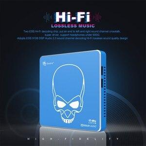 Image 2 - Beelink GT מלך PRO Hi Fi Lossless קול טלוויזיה תיבה עם Dolby אודיו Dts להקשיב 2.4G/5.8G WIFI Amlogic S922X LAN 1000MSet למעלה תיבה