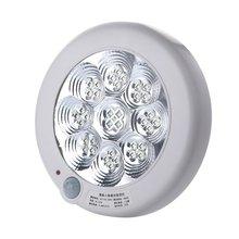 Светодиодный инфракрасный коридор гостиная Индукционная потолочная лампа