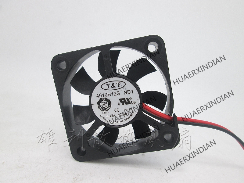 Original NEW T-T 401012V 0.18A 4010H12S ND1 Q6 Q5 4CM Motor Protection Cooling Fan High Quality