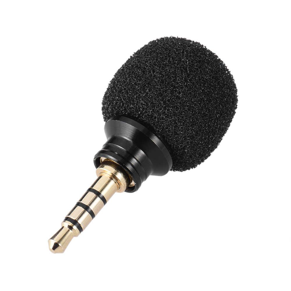 الهاتف المحمول الهاتف الذكي ميكروفون صغير محمول متعدد الاتجاهات ميكروفون ميكروفون لباد iPhone5 6s 6 Plus ميكروفون صغير